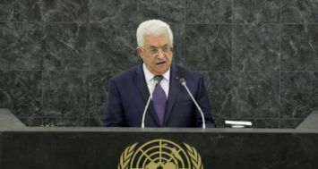 Le président palestinien Mahmoud Abbas à la tribune des Nations Unies, le 26 septembre 2013 à New York. [Photo: AFP]