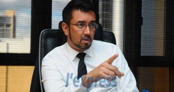 (Photo d'archives) Shakeel Mohamed était face à la presse le mardi 10 novembre.