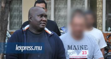 Jimmy Marthe lors de son arrestation en 2012.