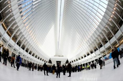 La gare du World Trade Center à New York, le 3 mars 2016.