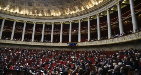 L'Assemblée nationale, le 24 mai 2016