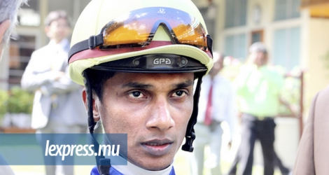 (Photo d'archives) Le jockey Swapneel Rama.