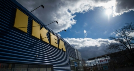 Le plus grand magasin Ikea d'Europe à Kungens Kurva, en Suède.