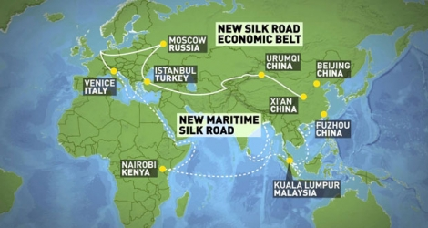 The initiative of building the Silk Road Economic Belt and the 21st-Century Maritime Silk Road was put forward in 2013.