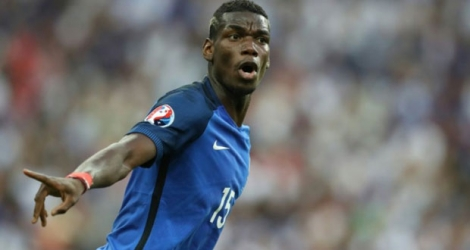 Le milieu de terrain international français Paul Pogba.
