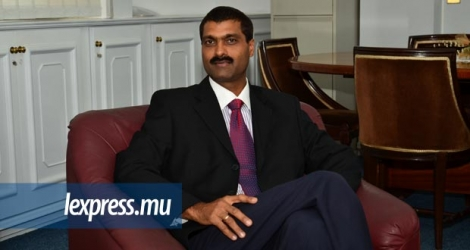 Jawaharlall Lallchand, Chairman de la Mauritius Shipping Corporation Ltd.