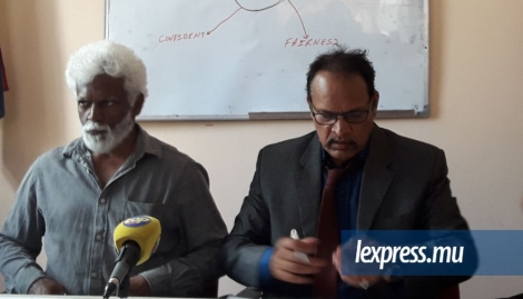 Le Dr Rajah Madhewoo a animé un point de presse à Port-Louis, mercredi 12 octobre.