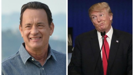 Tom Hanks a qualifié Donald Trump de «baudruche égocentrique et simpliste». | Photo : AFP / Reuters