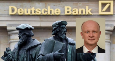 Fritz Philipps,(en médaillon) Chief Country Officer de la Deutsche Bank (Maurice).