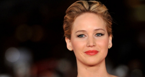 L'actrice Jennifer Lawrence.