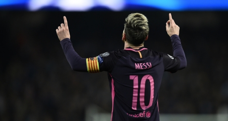 Lionel Messi a inscrit son 90e but en carrière en Ligue des champions mardi contre Manchester City.