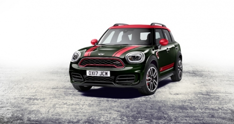Mini John Cooper Works Countryman 2017. © Mini.