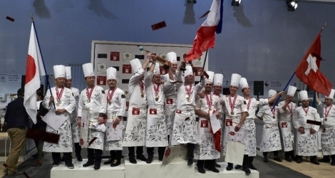 L'équipe de France a conquis le jury au Salon international de la gastronomie.