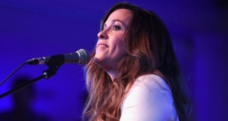 La chanteuse canadienne Alanis Morissette, le 20 mai 2015 à Hollywood.