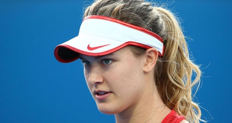 La Canadienne Eugenie Bouchard.