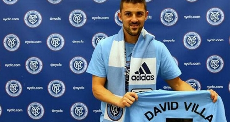 David Villa, la star espagnole de New York City.