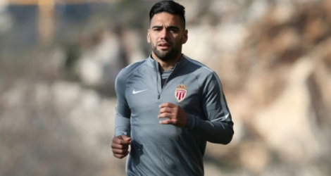 Le capitaine attaquant de Monaco ,Radamel Falcao.