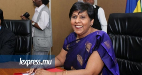 La ministre de l'Education Leela Devi Dookun-Luchoomun a participé à la 2e édition de la Model Commission on Status of Women, à Moka, le jeudi 30 mars.