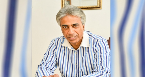 Arvin Boolell,Former foreign minister.