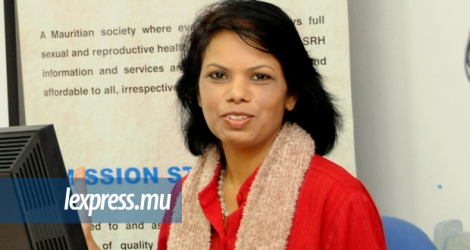 Vidya Charan, la directrice de la Mauritius Family Planning Welfare Association (MFPWA).