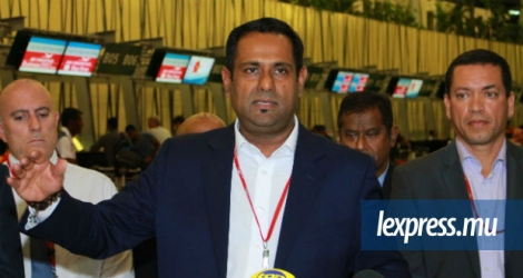 Le Chief Executive Officer d'Air Mauritius était face à la presse ce mercredi 11 octobre.