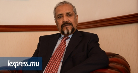 Cassam Uteem, président du Mouvement international ATD Quart monde.
