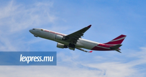 (Photo d'illustration) Air Mauritius prendra livraison d'un avion A350 le 20 octobre 2017.
