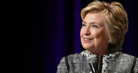 Hillary Clinton, le 1er juin 2017 à New York