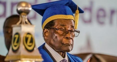 Robert Mugabe has been sacked as leader of the Zanu-PF.