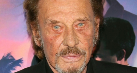 Le chanteur Johnny Hallyday, le 10 novembre 2016 à Hollywood.