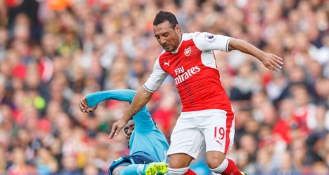 Le milieu d'Arsenal Santi Cazorla, absent depuis plus d'un an en raison d'une grave infection.