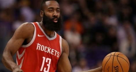 James Harden des Houston Rockets, le 16 novembre 2016 à Phoenix
