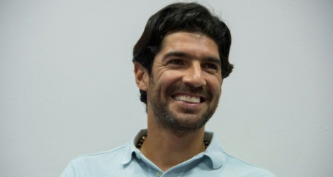 L'attaquant international uruguayen Sebastian Abreu