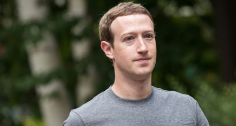 Le PDG de Facebook Mark Zuckerberg à Sun Valley, aux Etats-Unis, le 14 juillet 2017.