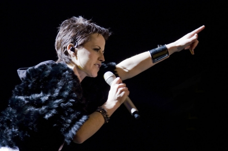 Dolores O'Riordan, former lead singer of the Cranberries