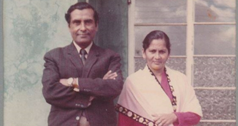Bibi Rabiah Soormally and her husband, Idrice Soormally.