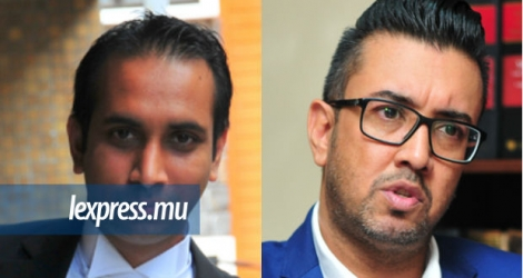 Mes Yousuf Ali Azaree et Shakeel Mohamed sont les avocats du ressortissant indien Sibi Thomas.