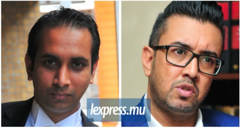 Mes Yousuf Ali Azaree et Shakeel Mohamed, les avocats du ressortissant indien Sibi Thomas.