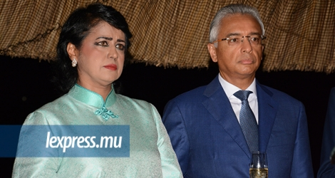 President Ameenah Gurib-Fakim and Prime Minister Pravind Jugnauth are officially at war