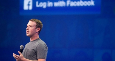Mark Zuckerberg, patron de Facebook, le 25 mars 2015 à San Francisco