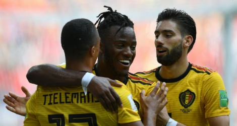 Michy Batshuayi a inscrit le 5e but belge.
