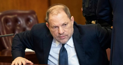 Le producteur américain Harvey Weinstein devant le tribunal de New York, le 5 juin 2018