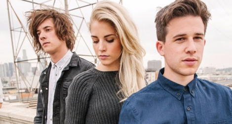 Le groupe britannique London Grammar, composé de Hannah Reid, Dan Rothman et Dominic Major.