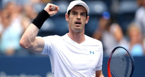 Andy Murray se qualifie pour le 2e tour de l'US Open le 27 août 2018