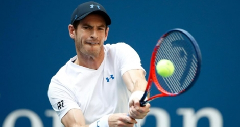 L'Ecossais Andy Murray face à l'Espagnol Fernando Verdasco au 2e tour de l'US Open, le 29 août 2018 à New York