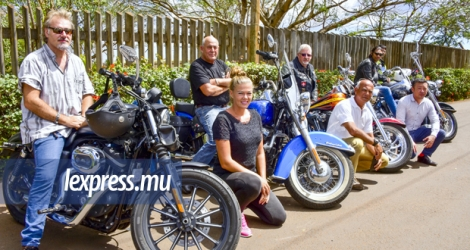 Le «Harley Owners Group (Mauritius Island Chapter)» compte 80 membres.