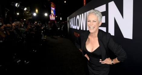 Jamie Lee Curtis à Hollywood, en Californie, le 17 octobre 2018.