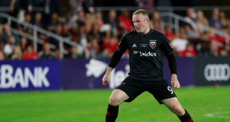 Wayne Rooney a manqué sa tentative dans la séance de tirs au but contre Columbus (photo prise le 14 juillet 2018 à Washington).