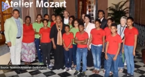 La video fait mention de l'Atelier Mozart.