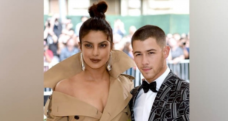 Priyanka Chopra et la star hollywoodienne Nick Jonas